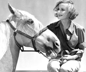 actress, horse, and classic vintage hollywood image