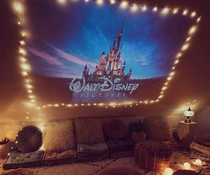 disney, home, and lights image