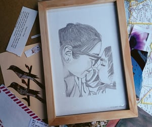 art, blancoynegro, and drawingart image