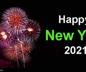 happy new year 2021 and article image