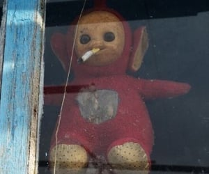 cigarette, teletubbies, and mood image