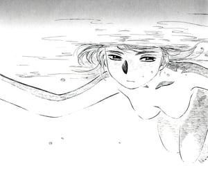 art, ykk, and manga cap image