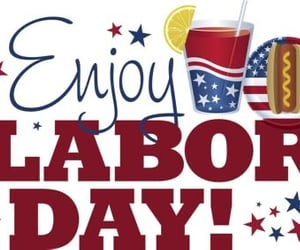 holiday, monday, and labor day image