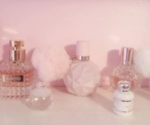 pink, perfume, and aesthetic image