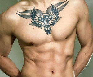 chest, sexy, and tatted image