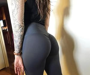 fitness, bodybuilding, and women's leggings image
