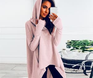 warm clothes, women's hoodie, and autumn collection image
