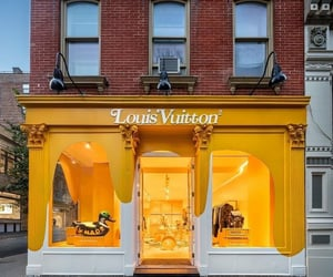 Louis Vuitton, new york, and shop image