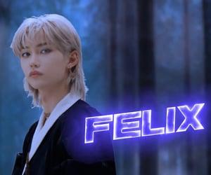 felix, stray kids, and kpop image