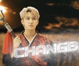 kpop, skz, and changbin image