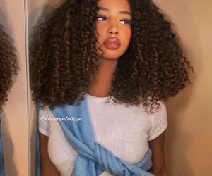 beautiful, guess, and curlyhair image