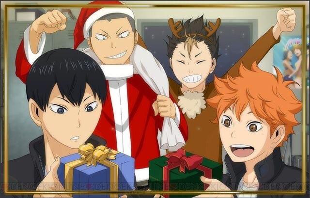 anime, naruto, and haikyuu image