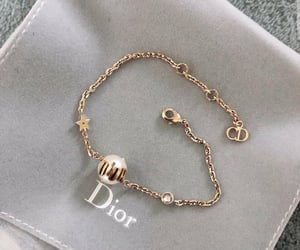 dior, gold, and fave image