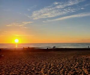 beaches, sunrise, and coastal image