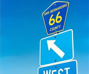 road, route66, and numbers image