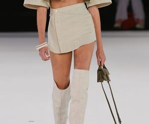 fashion, jacquemus, and outfit image