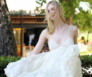 editorial, Elle Fanning, and model image