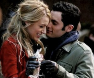 blake lively, couples, and penn badgely image