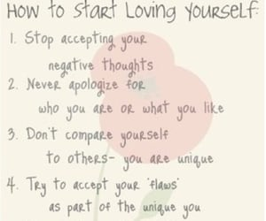 acceptance, list, and love image