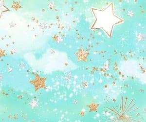 celeste, stars, and dorado image
