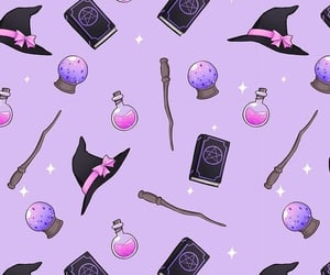 Halloween, wallpaper, and witch image