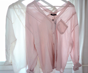 fashion, shirt, and pink image