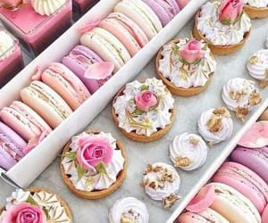 baby pink, food, and light pink image
