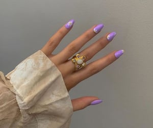 fashion, tumblr inspiration, and nails goals image