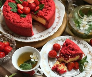 cakes, food, and tea image