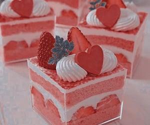 cake, comet, and dessert image