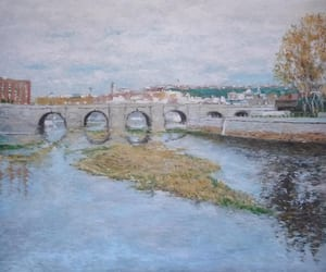 arte, cuadros, and otoño image