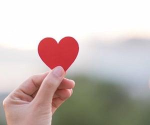 create, love, and heart image