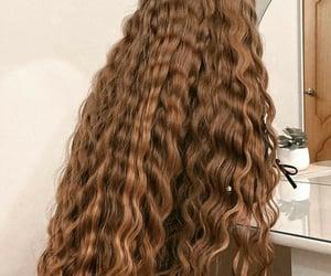 brown, girl, and hair image