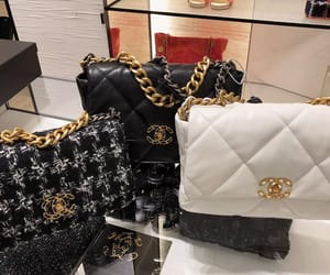 chanel, chanel bags, and chanel boutique image