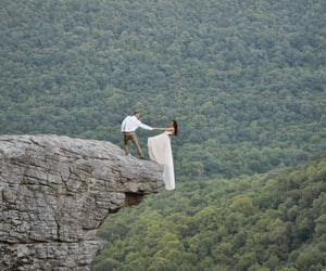 arkansas, nature, and wedding image
