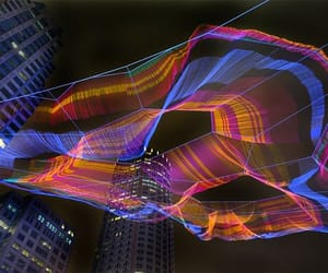 boston, janet echelman, and colorful spider image