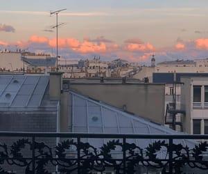 paris, sky, and ile-de-france image