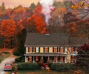 fall, home, and house image