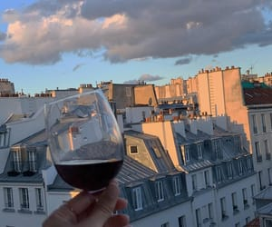 paris, vin, and photographie image