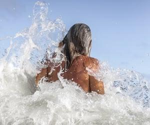 fun, mermaid, and ocean image