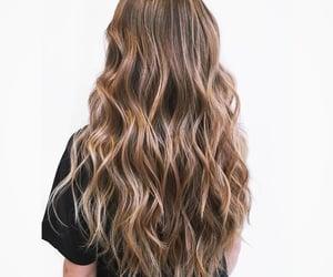 dark hair, beautiful hair, and blonde hair image