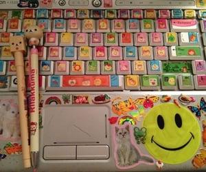laptop, aesthetic, and rilakkuma image