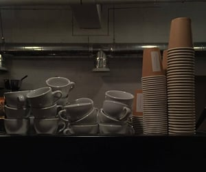 aesthetic, midnight, and cafe image