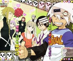 anime, magazine, and scan image