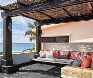 house, playa, and mar image