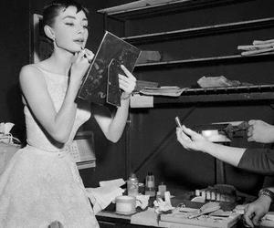 audrey hepburn, audrey, and makeup image