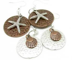 etsy, stocking stuffers, and drop earrings image