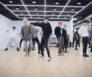 gif, yunho, and dance practice image