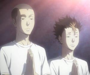 haikyuu, anime, and tanaka image