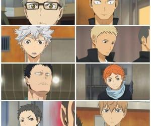 anime, ryunosuke tanaka, and haikyuu image